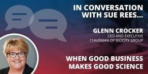 In conversation with Glenn Croker