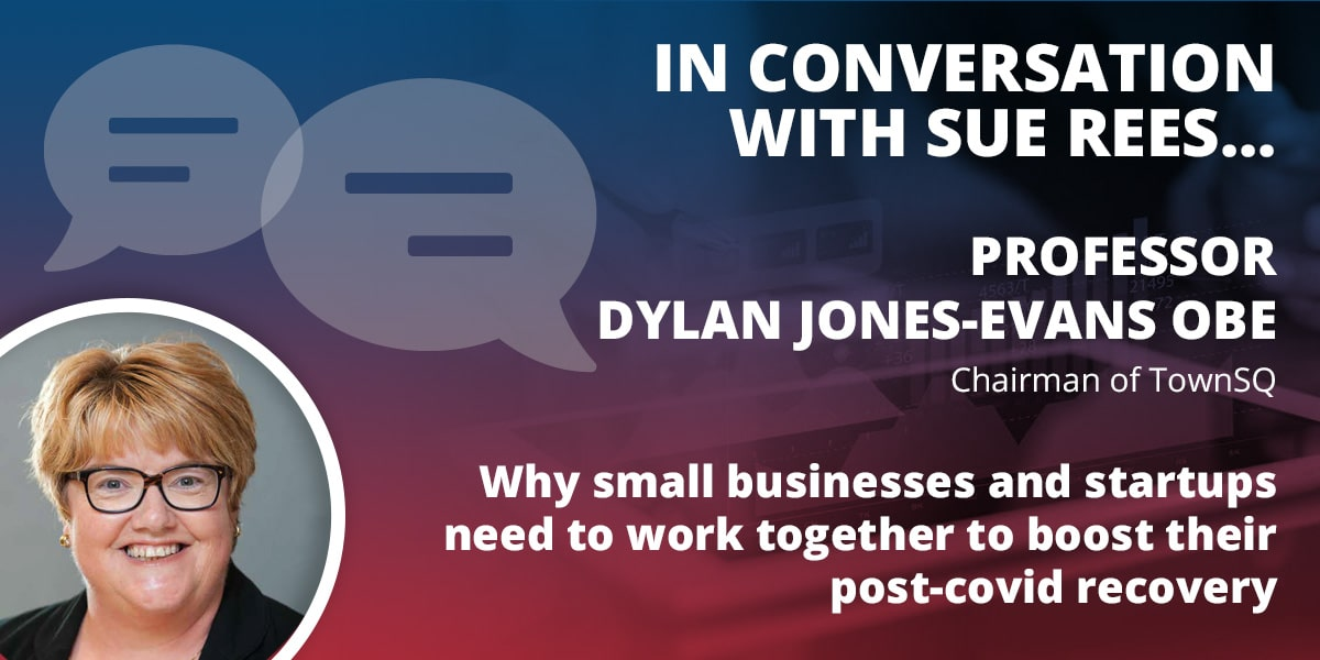 In conversation with Dylan Jones-Evans
